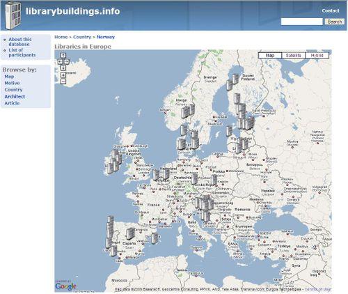 Librarybuildings info