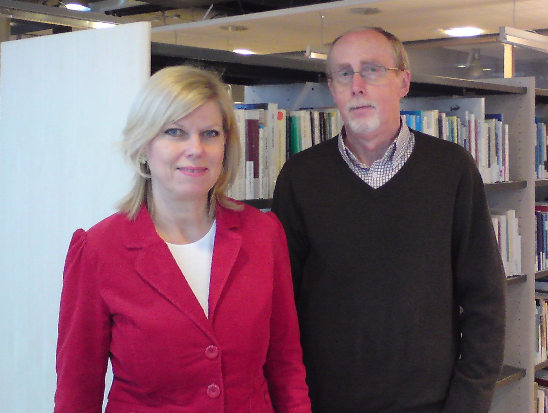 Campusbiblioteket Varberg, personal