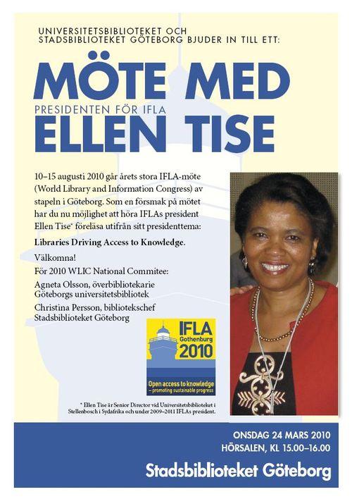 Ellen Tise i Göteborg